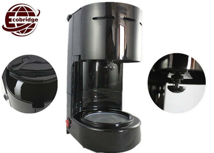 650ml/ 4-6 Cups Electric Drip Coffee Maker Office Home With PP Glass 600W